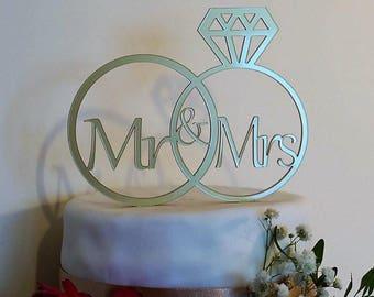 Personalised wedding cake topper, wedding cake topper, cake topper, mr and mrs, mr and mr, mrs and mrs