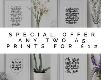 Special Offer | Christian Gifts | Christian Prints | Make Today Beautiful