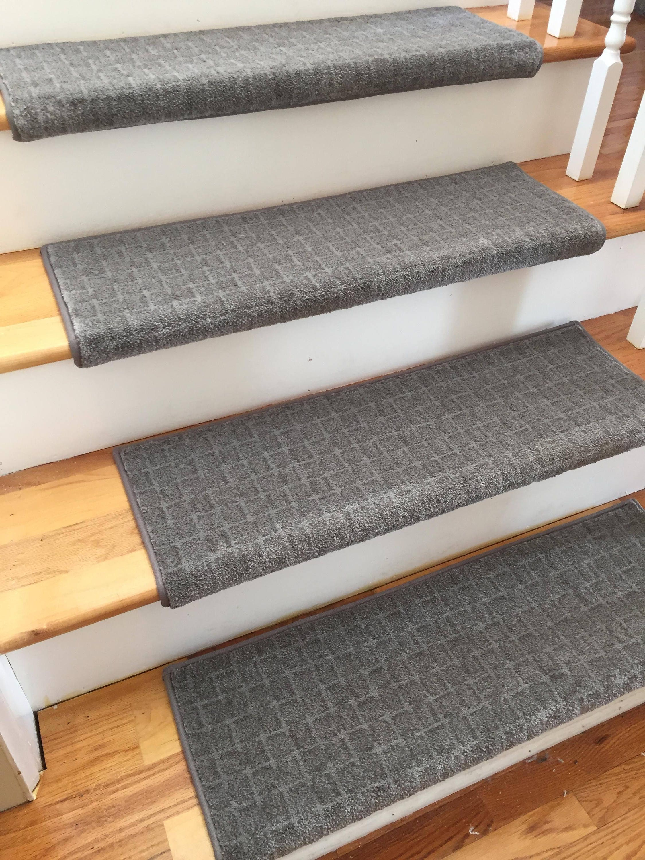 Poetry Visionary True Bullnose™ Carpet Stair Tread   For Safety Comfort Dog  Cat Pet (Sold Each)