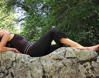 Cinchy Pants-Womens clothing-Bohemian Pants-Funky yoga pants-wholesale clothes-hippie pants-yoga capri-women's capris pants-edgy yoga-aurora