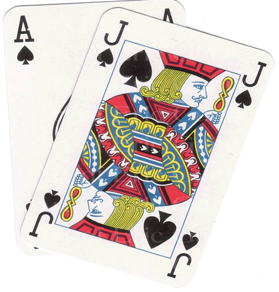 Blackjack Hand Casino Birthday - Edible Cake and Cupcake Topper For Birthday's and Parties! - D22842
