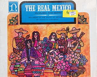 The Real Mexico Vintage Vinyl Record