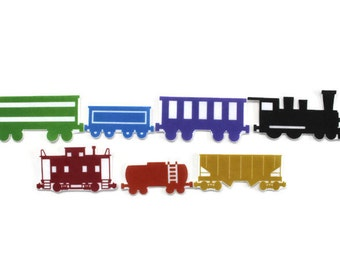 Train Felt Story Set - Color Recognition Learning Activity, Preschool Learning Toy, Colors Felt Board Set, Educational Toy, Montessori Toy