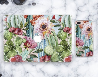 Tropical Macbook Case Laptop Air 13 Hard Case Succulent Macbook Pro 13 Case Hard Macbook Case Macbook Pro Case Christmas Macbook Pro 13 2017