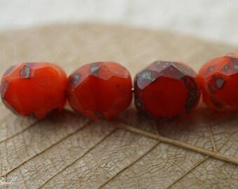 Red Rogue, Czech Beads, Beads,6-2