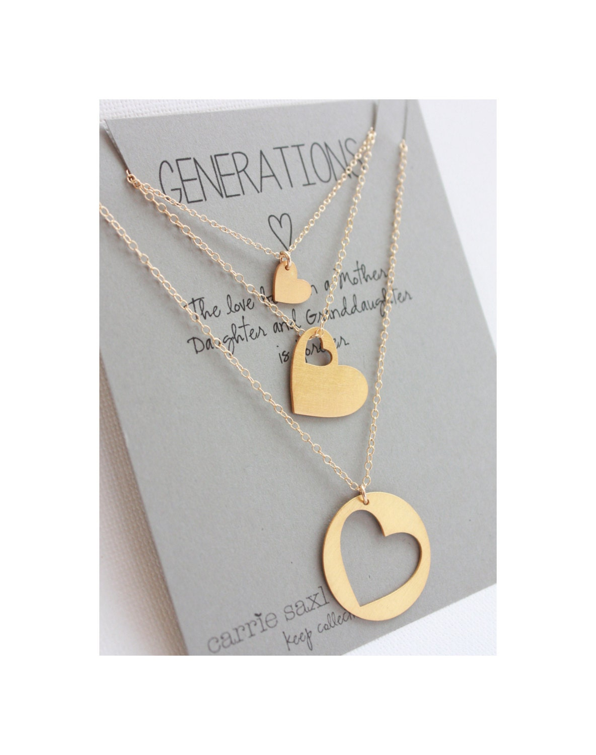 gift for grandmother personalized necklaces grandmother mother daughter christmas