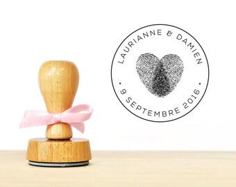 Buffer personalized romantic wedding heart prints (TAM0097)