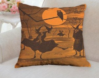 Halloween Witch's Pillow