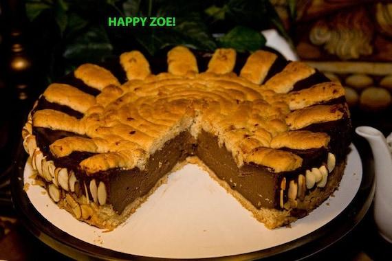 """Vegan Sunshine chocolate cheesecake 8"""""""
