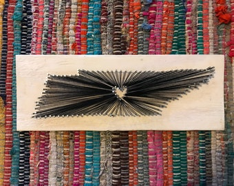 SALE!!! Tennessee String Art 15 in. x 5.5 in.  - Wall Hanging - Home Decor