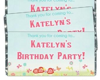 Emballages de bonbons anniversaire - fit plus 1,55 oz chocolat barres, fleurs de printemps, cotillons anniversaire, emballages du Candy Bar chocolatiers