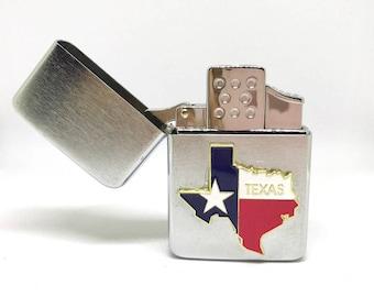 State of Texas Pocket Lighter – Color