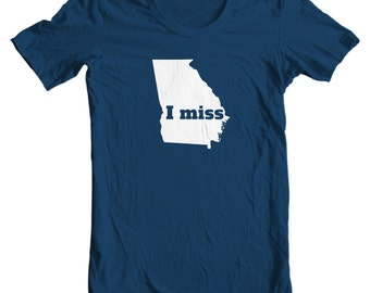Georgia T-shirt - I Miss Georgia - My State Georgia T-shirt