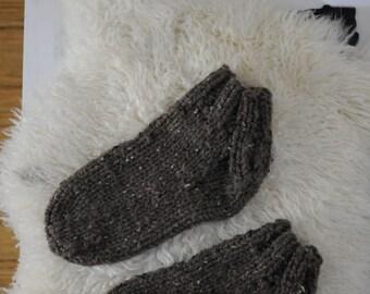 Bulky Knit Man Socks Knitting Pattern