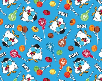 It's Tootsie Roll Time - Owls C6811-BLUE