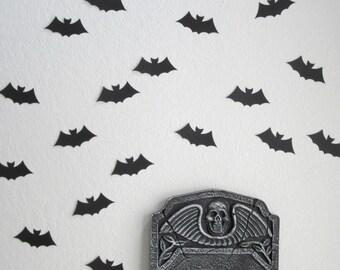 Halloween Decor - Set of 20 SMALL Black Bat Die Cuts