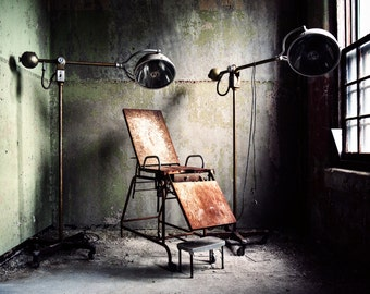 Print - The Reading Room - Former State Hospital for the Insane