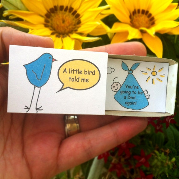 Dad Pregnancy Announcement Surprise Gift Husband Gift