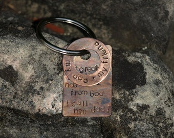 A gift for Dad Keychain by Flutter