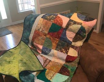 2- Batik Twin Quilts