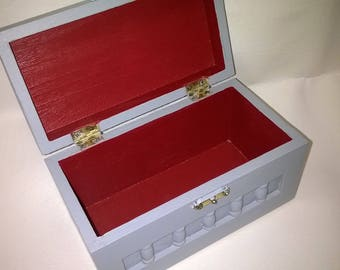 Box jewelry, trinkets, secrets of girls - Hand made in France
