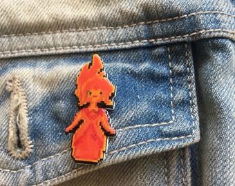 phoebe - adventure time flame princess pin