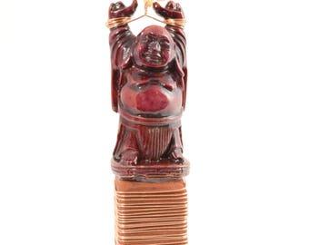 Little Buddha, miniature sculpture, buddha art, original fine art, assemblage art, reclaimed materials, salvaged materials, mindfulness