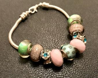 Light Pink/ Mint Green Bracelet