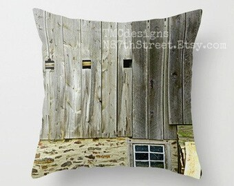 BUCKS COUNTY. Photo Art by TMCdesigns. Rustic Barn. Fieldstone. Moss. Grey Wood. Windows. Classic. Primitive. Farmhouse. Country French. PA
