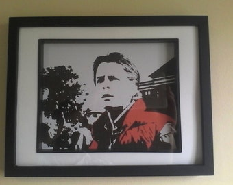 Marty McFly Back To The Future Wall Art