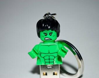 128GB Hulk USB Flash Drive with Key Chain