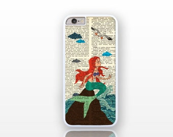 The little mermaid iPhone 7/7 Plus-Mermaid iPhone 6/6s-Mermaid iPhone 6 Plus-iPhone 5/5S-Galaxy S4/S5/S6-Huawei P9/P9lite-Natura Picta-NP150