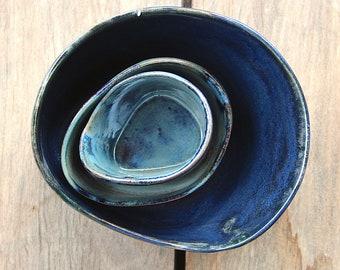 handmade ceramic Salad Bowl (Bowl)