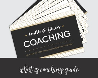What is Coaching? Handout Guide