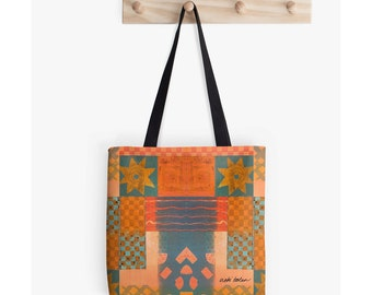 Tote Bag, Beach Tote, Market Tote, Carry All Bag, The Book Bag, Back to School Supplies, College Student Gifts for Christmas, Festival Bag