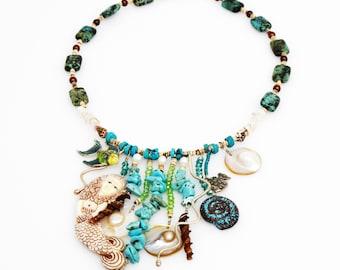 Mermaid's Garden IV Necklace