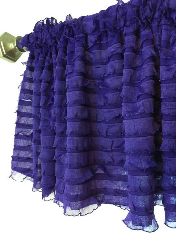 Purple Valance Purple Kitchen Curtains Bedroom Valances