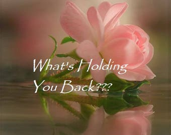 Psychic Reading What is Holding you back 1 In-depth Question