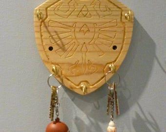Legend of Zelda Hylian Shield Key Hook