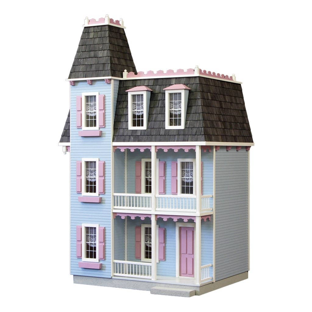 Dollhouse Kit DIY Dollhouse Victorian Alison Jr. Unfinished