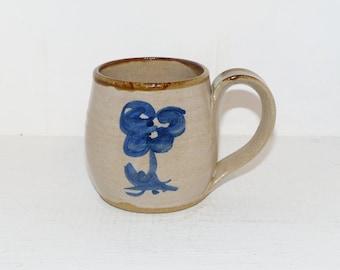 Gordon Pottery Salem Ontario Hand Thrown Mug  - 1990