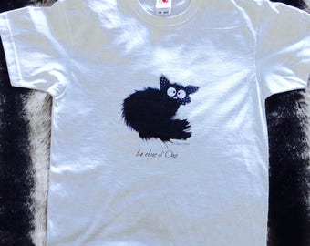 T-shirt for kids 10/12 years with the Ooz cat