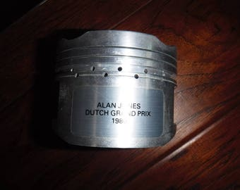 Alan Jones Dutch Grand Prix Aluminum piston 1980