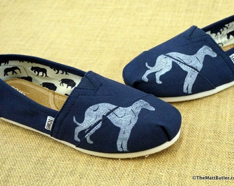 Greyhound Dog TOMS Shoes