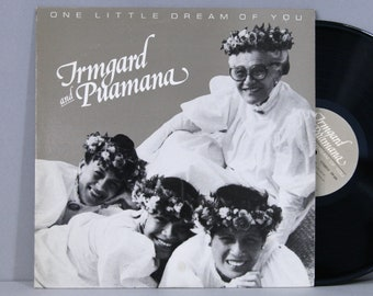 Irmgard And Puamana - One Little Dream Of You - Vintage Vinyl Record Album 1982 Hawaiian Music