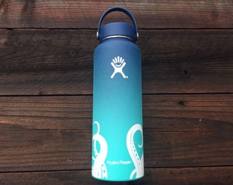 Octopus tentacles vinyl decal for hydroflask.