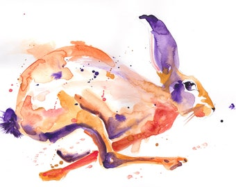 Augustus the Hare (print)