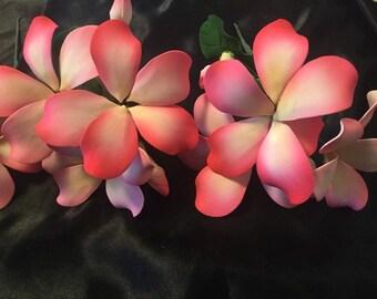 Plumeria Flower Cake Topper