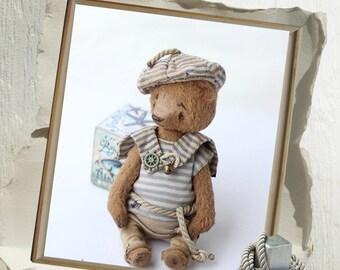 Pattern Teddy bear seaman