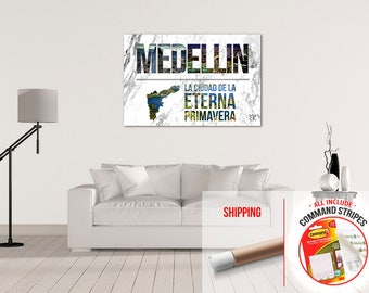 Medellin Colombia Beautiful | Matte High Quality Poster
